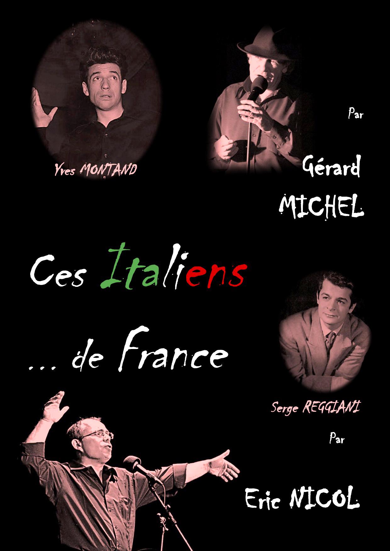 2 Italiens De France, Géant De La Chanson Française
